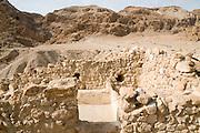 Israel, Dead Sea, Qumran - General view