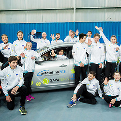 20170121: SLO, Tennis - Presentation of Team Slovenia for Tennis Europe Winter Cup