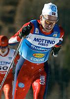 Langrenn: Verdenscup WC. 10 km klassisk stil: Anders Aukland vann dagens tavling.<br /><br />Foto: Niklas Larsson, Digitalsport