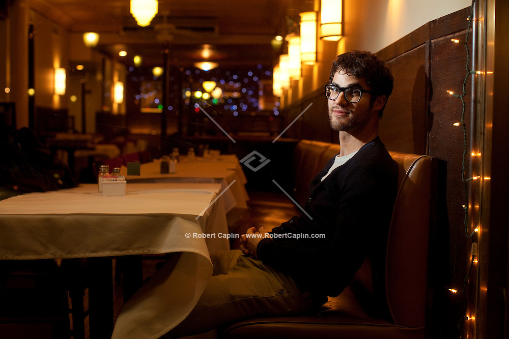 """Actor Darren Criss will be starring for three weeks in """"How To Succeed in Business Without Really Trying"""" on Broadway. ..Photo by Robert Caplin."""