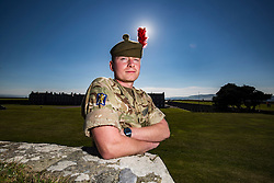 Alisdair Lavery. Feature on the Army's new Foxhound light mechanised infantry vehicles at Fort George army barracks, before they leave on convoy for England, before going into active service.