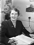 Mrs Christina Reidy, Hotel Manageress, Co Monaghan<br /> 04/04/1957