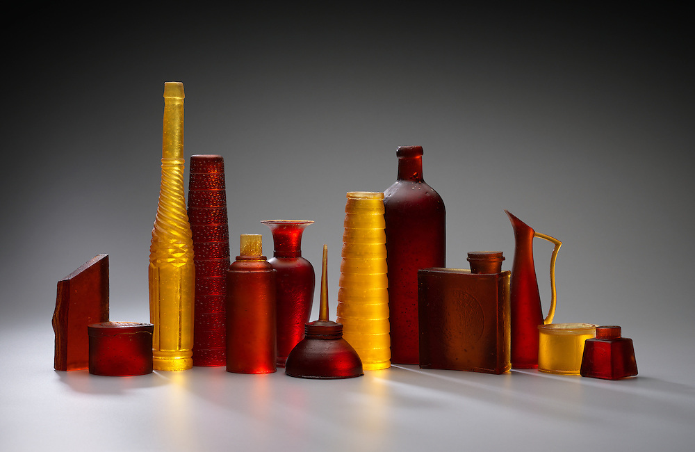 Glass artwork by Wendy Fairclough