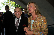 Lord  Weidenfeld, Mrs. Karl-Otto Pohl. The opening of ' Princely Spendour: The Dresden Court 1580-1620' The Gilbert Collection, Somerset House. London. 8 June 2005. ONE TIME USE ONLY - DO NOT ARCHIVE  © Copyright Photograph by Dafydd Jones 66 Stockwell Park Rd. London SW9 0DA Tel 020 7733 0108 www.dafjones.com