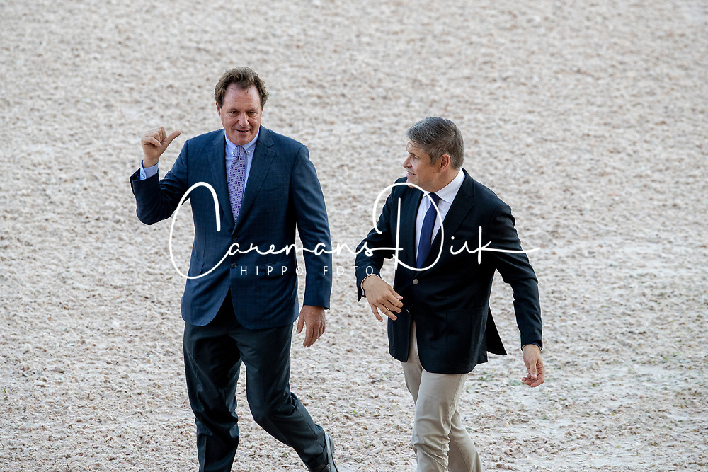 Belissimo Mark, Capelli Juan Carlos, Vice President Longines<br /> World Equestrian Games - Tryon 2018<br /> © Hippo Foto - Dirk Caremans<br /> 21/09/2018