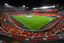 General view of the pitch ahead of the match