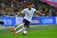 Kyle Walker of England during the UEFA European 2020 Qualifier match between England and Czech Republic at Wembley Stadium, London, England on 22 March 2019.