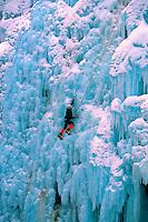 Ice climbing, Ouray Ice Festival, Ouray Ice Park, Ouray, Colorado