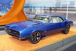 08  February 2013: 1967 Chevrolet Performance Camero - Hot Wheels Edition. Chicago Auto Show, Chicago Automobile Trade Association (CATA), McCormick Place, Chicago Illinois