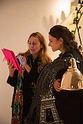 AURELIE JULIEN; GOZDE GORYAKIN, Collector's preview of PAD. Berkeley Sq. London. 8 October 2012.