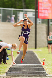 Maine State Track & Field Meet, Class B: girls triple jump, Kellie Bolduc, Waterville