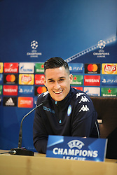 This afternoon at Castel Volturno where the Napoli team was trained, a pre-press conference was held for tomorrow's Champions League match between Napoli and Manchester City.<br />The conference was attended by Napoli coach Maurizio Sarri and player Josè Marìa Callejón.