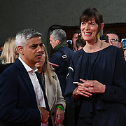 Sadiq Khan - Mayor of London, Clio Barnard attended ALI & AVA - The Mayor of London's Special Presentation, 13 October 2021 Southbank Centre, Royal Festival Hall, London, UK.