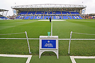General view of The Abax Stadium before the EFL Sky Bet League 1 match between Peterborough United and Barnsley at The Abax Stadium, Peterborough, England on 6 October 2018.