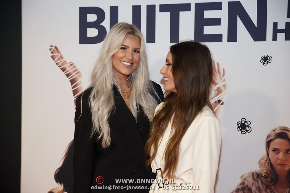 NL/Utrecht/20200929 - NFF filmpremiere Buiten is het Feest, Yasmin Karssing en Cassidy Roeks