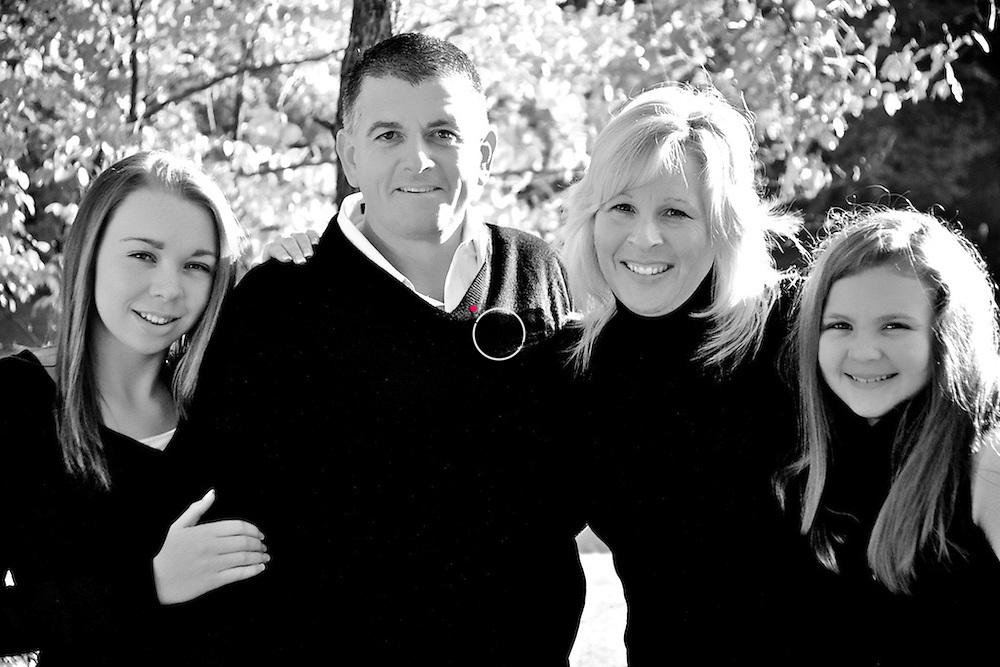 Family Pose INFRARED