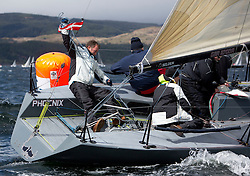 Day one of the Silvers Marine Scottish Series 2015, the largest sailing event in Scotland organised by the  Clyde Cruising Club<br /> Racing on Loch Fyne from 22rd-24th May 2015<br /> <br /> GBR8700R, Phoenix, McVey/Darge/Black, CCC, Quarter Tonner<br /> <br /> <br /> Credit : Marc Turner / CCC<br /> For further information contact<br /> Iain Hurrel<br /> Mobile : 07766 116451<br /> Email : info@marine.blast.com<br /> <br /> For a full list of Silvers Marine Scottish Series sponsors visit http://www.clyde.org/scottish-series/sponsors/