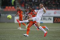 Gregory SERTIC / Raffidine ABDULLAH - 02.05.2015 - Lorient / Bordeaux - 35eme journee de Ligue 1 <br />Photo : Vincent Michel / Icon Sport