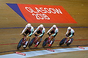 Men Team Sprint, Switzerland, during the UEC Track Cycling European Championships Glasgow 2018, at Sir Chris Hoy Velodrome, in Glasgow, Great Britain, Day 2, on August 3, 2018 - Photo Luca Bettini / BettiniPhoto / ProSportsImages / DPPI - Belgium out, Spain out, Italy out, Netherlands out -