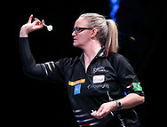 Laura Turner during the BDO World Professional Championships at the O2 Arena, London, United Kingdom on 5 January 2020.