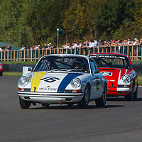 1966 Porsche 911 2-litre driven by Lee Maxted-Page in the Fordwater Trophy at Goodwood Revival 2019