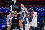 Raphael Gaspardo<br /> Happycasa Brindisi - Allianz Pallacanestro Trieste<br /> LBA Frecciarossa Final Eight 2021 - Quarti di Finale<br /> Legabasket Serie A UnipolSAI 2020/2021<br /> Milano, 12/02/2021<br /> Foto L.Canu / Ciamillo-Castoria