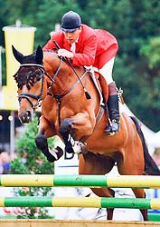 , Warendorf - Bundeschampionate 03. - 08.09.1996, H S Robin Hood - Klöppner, Alfons搮