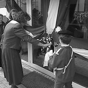 Opening nieuwbouw voor Pr. Irene IJsselmeerweg Huizen door wethouder Margot Dierick