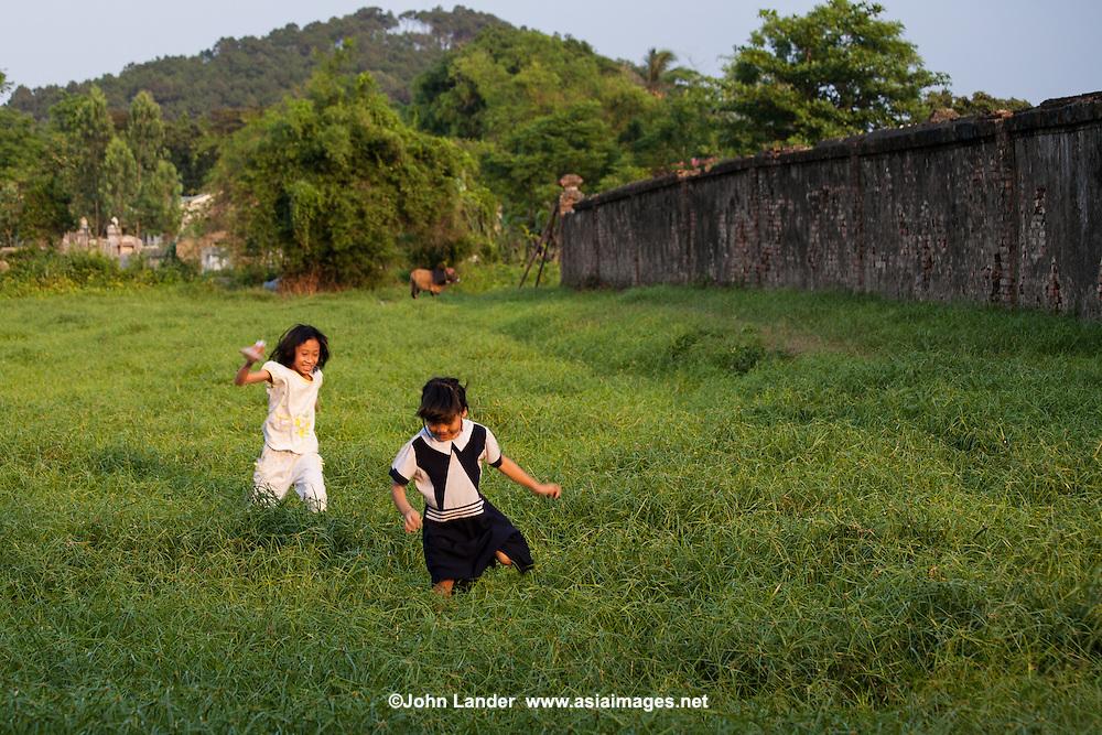 Spirited Vietnamese Kids