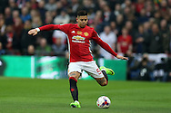 Marcos Rojo of Manchester Utd in action. EFL Cup Final 2017, Manchester Utd v Southampton at Wembley Stadium in London on Sunday 26th February 2017. pic by Andrew Orchard, Andrew Orchard sports photography.
