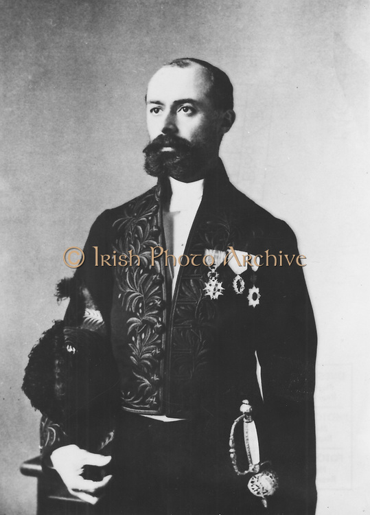 (Antoine) Henri Becquerel (1852-1908) French physicist; Fluorescence: Radioactivity; shared 1903 Nobel prize for physics with Pierre and Marie Curie. Photograph