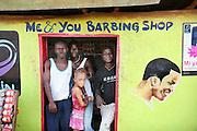 Me & You Barbing Shop.  Makeni, Sierra Leone