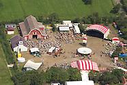 Terschelling tijdens Oerol (luchtfoto's)