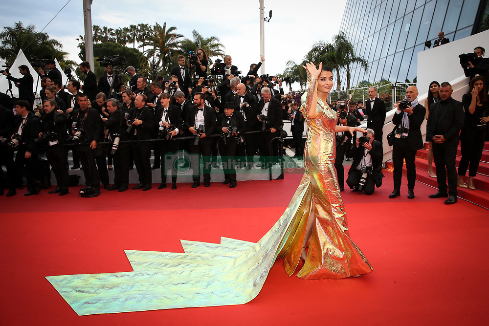 Aishwarya Rai attends the screening of A Hidden Life (Une Vie Cachee) during the 72nd annual Cannes Film Festival on May 19, 2019 in Cannes, France. Photo by Shootpix/ABACAPRESS.COM