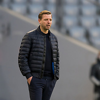 21.11.2020, Allianz Arena, Muenchen, GER,  FC Bayern Muenchen SV Werder Bremen <br /> <br /> <br />  im Bild Florian Kohfeldt (Cheftrainer SV Werder Bremen) <br /> <br /> <br /> <br /> Foto © nordphoto / Straubmeier / Pool/ <br /> <br /> DFL regulations prohibit any use of photographs as image sequences and / or quasi-video.