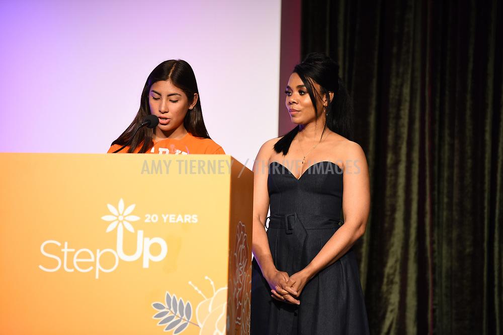 Step Up student Romina and actress Regina Hall