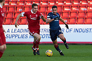 14 for Ross County, Jermaine Hylton during the Scottish Premiership match between Ross County FC and Aberdeen FC at the Global Energy Stadium, Dingwall, Scotland on 16 January 2021.