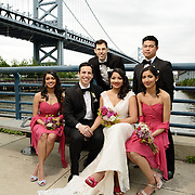 Wedding of Kishwer & Gino Barrica<br /> portraits at Race St Pier<br /> May 18, 2013