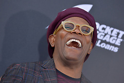 Samuel L. Jackson attends the World Premiere of Avengers: Infinity War on April 23, 2018 in Los Angeles, Ca, USA. Photo by Lionel Hahn/ABACAPRESS.COM