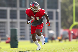 July 28, 2018 - Tampa, FL, U.S. - TAMPA, FL - JULY 28: 2018 draft pick Jordan Whitehead (31) closes in on the receiver during the Tampa Bay Buccaneers Training Camp on July 28, 2018 at One Buccaneer Place in Tampa, Florida. (Photo by Cliff Welch/Icon Sportswire) (Credit Image: © Cliff Welch/Icon SMI via ZUMA Press)