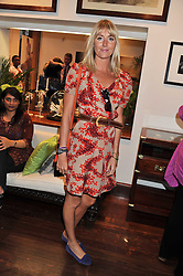 LADY EMILY COMPTON at a party to celebrate the launch of the new Mauritius Collection of jewellery by Forbes Mavros held at Patrick Mavros, 104-106 Fulham Road, London SW3 on 5th July 2011.