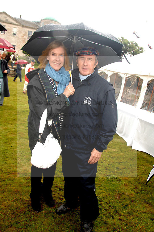 SIR JACKIE & LADY STEWART at the Cartier Style Et Luxe at the Goodwood Festival of Speed, Goodwood House, West Sussex on 24th June 2007.<br /><br />NON EXCLUSIVE - WORLD RIGHTS