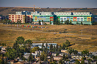 Alberta Children's Hospital from Edgeworthy Park