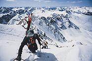 Skiing Maroon Peak