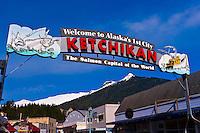 Ketchikan, Southeast Alaska USA