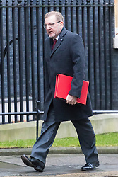 Downing Street, London, December 13th 2016. Scotland Secretary David Mundell arrives at the weekly meeting of the cabinet at Downing Street, London.