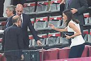 Queen Letizia of Spain attends Copa de la Reina Final at Los Nuevos Carmenes Stadium on May 12, 2019 in Granada, Spain