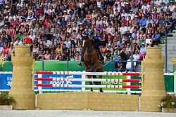 Evelina Bertoli, (ITA), Leitrim Orient Express - Jumping Eventing - Alltech FEI World Equestrian Games™ 2014 - Normandy, France.<br /> © Hippo Foto Team - Leanjo De Koster<br /> 31-08-14