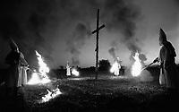 Darke County, Ohio  -- The KKK in Ohio 1988. -- Photo by Jack Gruber