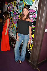 ROSEMARY FERGUSON at Hoping's Greatest Hits - the 10th Anniversary of The Hoping Foundation's charity benefit held at Ronnie Scott's, 47 Frith Street, Soho, London on 16th June 2016.
